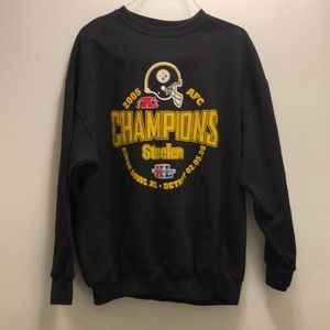 Pittsburg Steelers AFC champions sweater